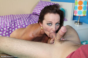 soccer mom blowjob