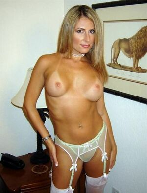 blonde milf sex