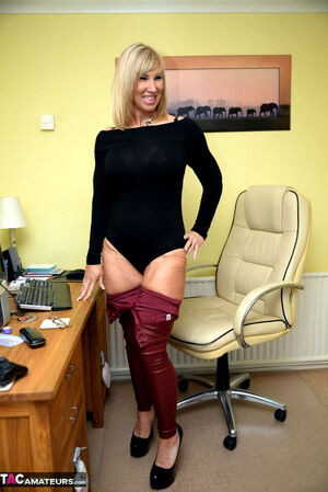 blonde amateur mature