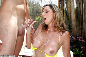 mature blowjob handjob