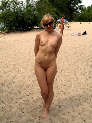 granny at nudist camp